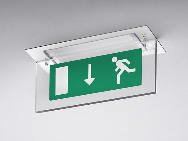 Экстренная эвакуация знаки и освещение